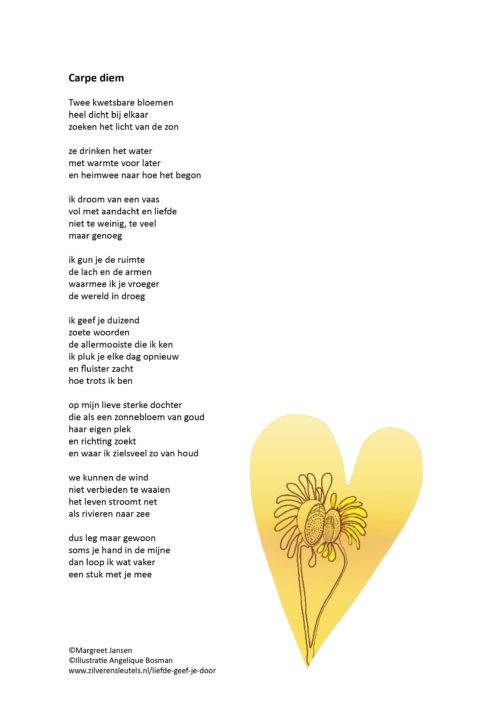 Verbazingwekkend Gedichten – Liefde geef je door – Zilveren Sleutels IL-98