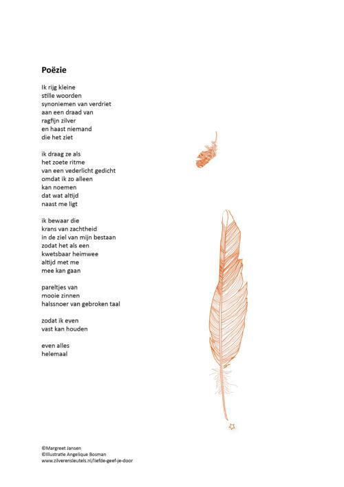 Hedendaags Gedichten – Liefde geef je door – Zilveren Sleutels EO-13